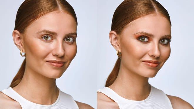 Notino: Bronze eye makeup