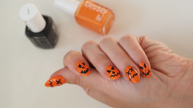 Halloween party na Twoich paznokciach