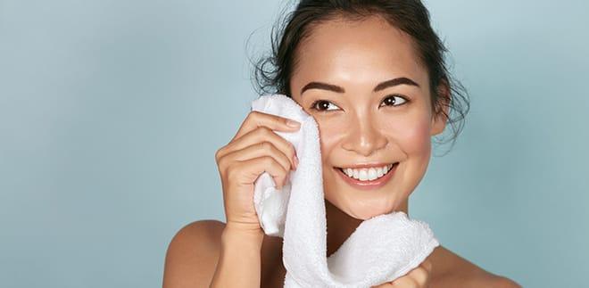 Økotrend: Håndklæder, vaskeklude og handsker til at fjerne makeup